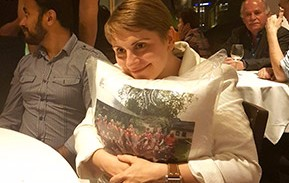 Stef's Rage cushion