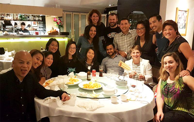 Rage lobster noodle dinner: Stef's farewell
