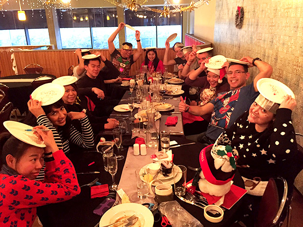 Rage Christmas lunch