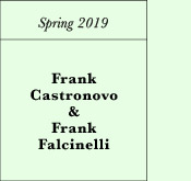 Spring 2019: Frank Castronovo & Frank Falcinelli