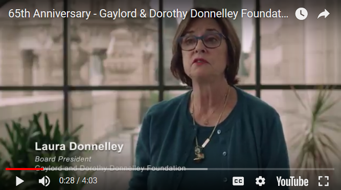 Laura Donnelley talks about her parents's legacy