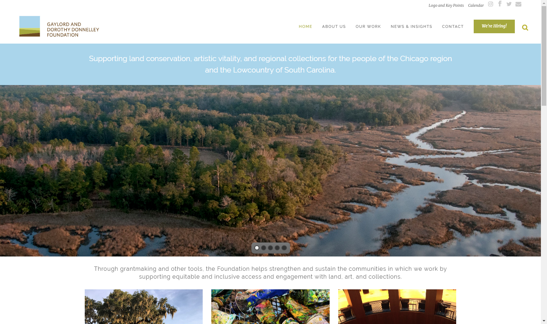 screenshot of gddf.org website