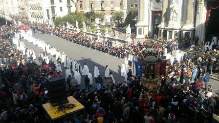 Riddarprocession i Catania