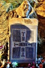 Satorkvadraten i St Antonius kapell, Gorges de Galamus