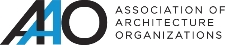 Association of Architecture Organizations logo