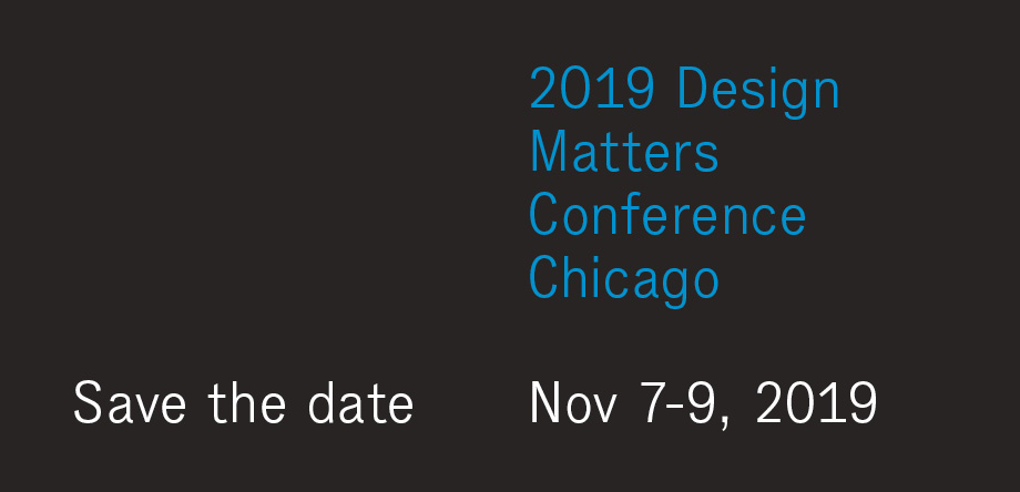 Design Matters Conference 2019