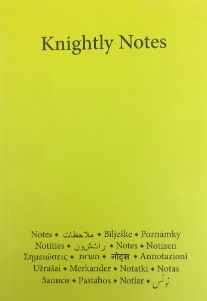 Knightly Notes Notebook