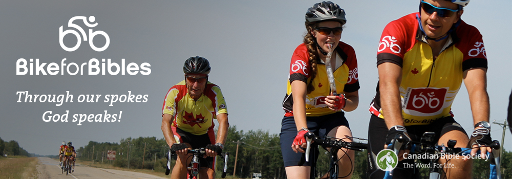 Bike for Bibles Cyclists