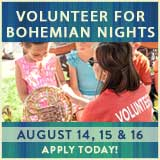 Volunteer for Bohemian Nights