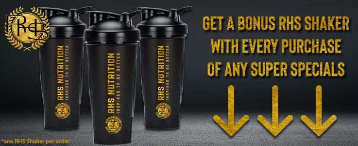 RHS NUTRITION SPECIALS AND NEW SUPPS