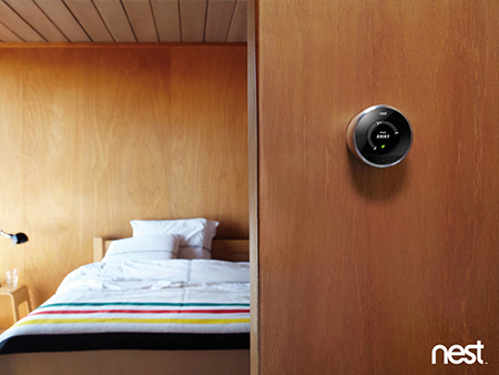 Nest in a home with wooden walls by Nest, on Flickr