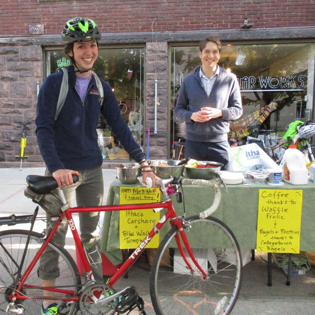 Bike to Work Day Station