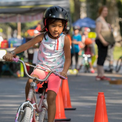 Learn to handle curves at the IYB Bike Roadeo