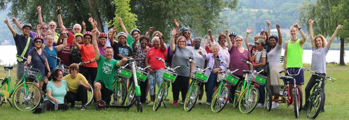 GIAC Seniors Ride Bikes