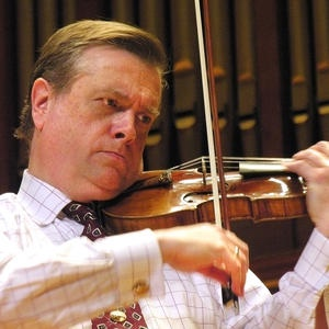 Violinist James Buswell