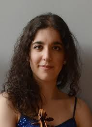 Violinist Amy Galluzzo
