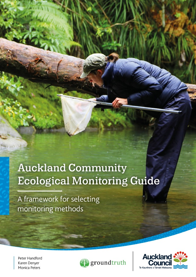 cover of Auckland community ecological monitoring guide