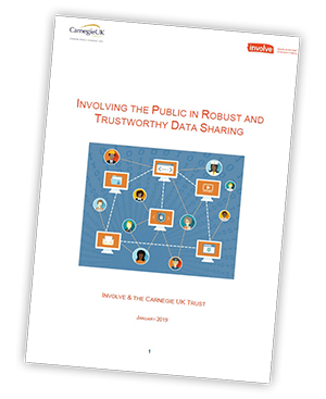 Involving the public in robust and trustworthy data sharing
