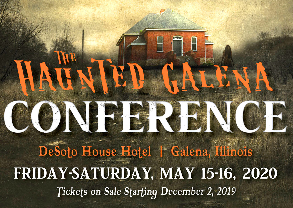 Galena Illinois paranormal conference
