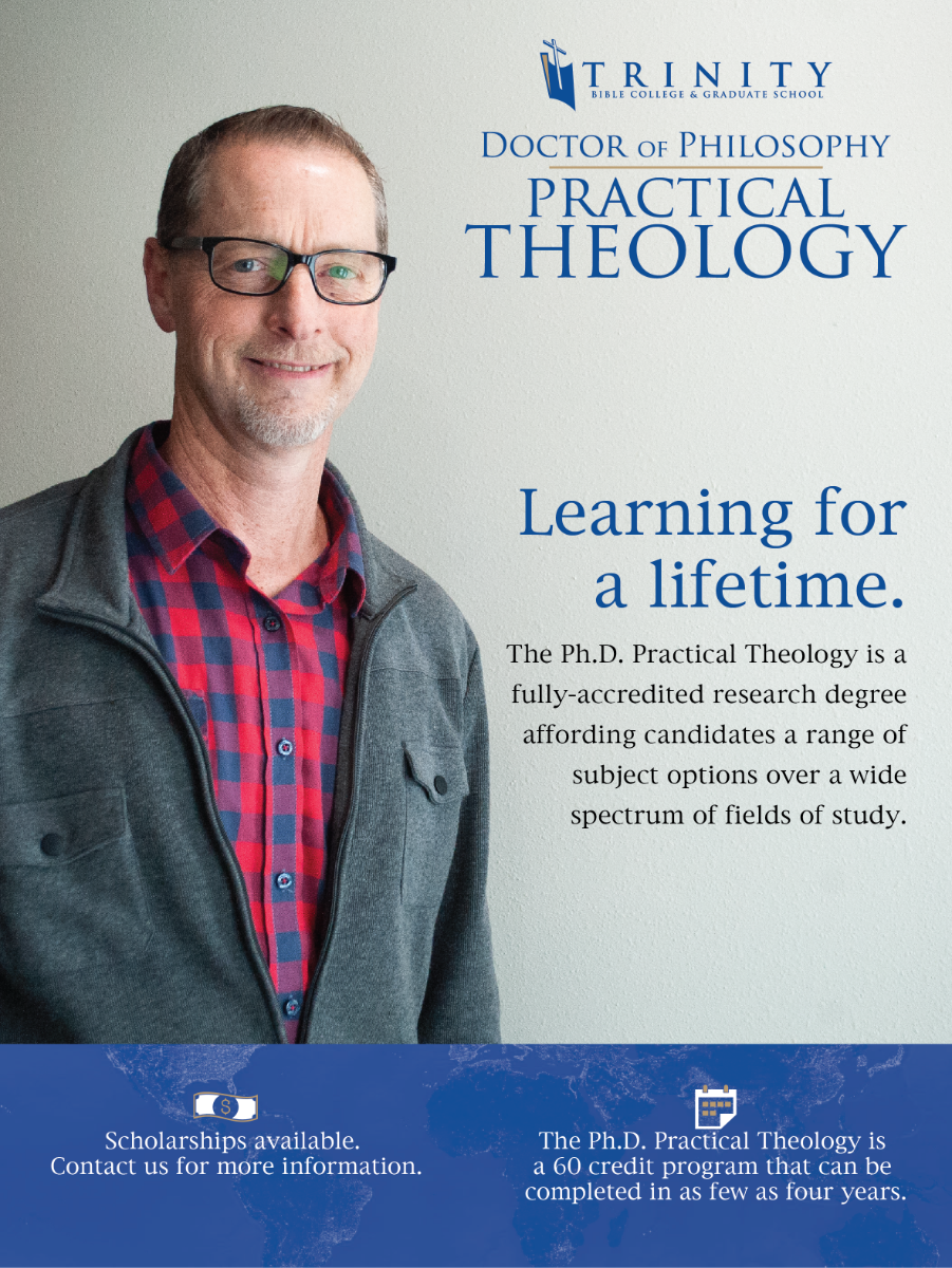 Doctor of Philosophy Practical Theology. Learning for a Lifetime. The Ph.D. Practical Theology is a fully-accredited research degree affording candidates a range of subject options over a wide spectrum of fields of study. Scholarships available. Contact us for more information. The Ph.D. Practical Theology is a 60 credit program that can be completed in as few as four years.