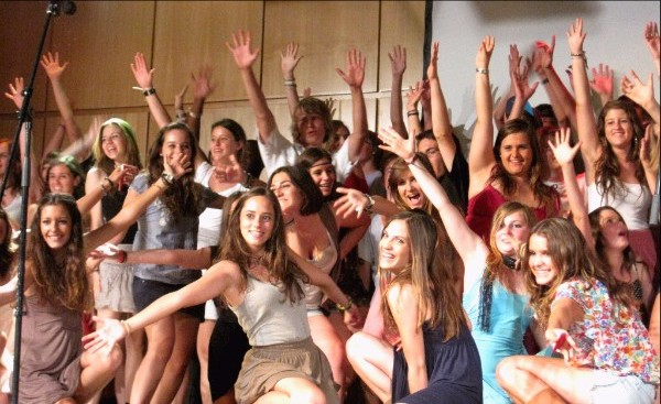 Youth Choir in Movement