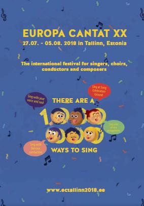 EC Festival XX Tallinn booklet