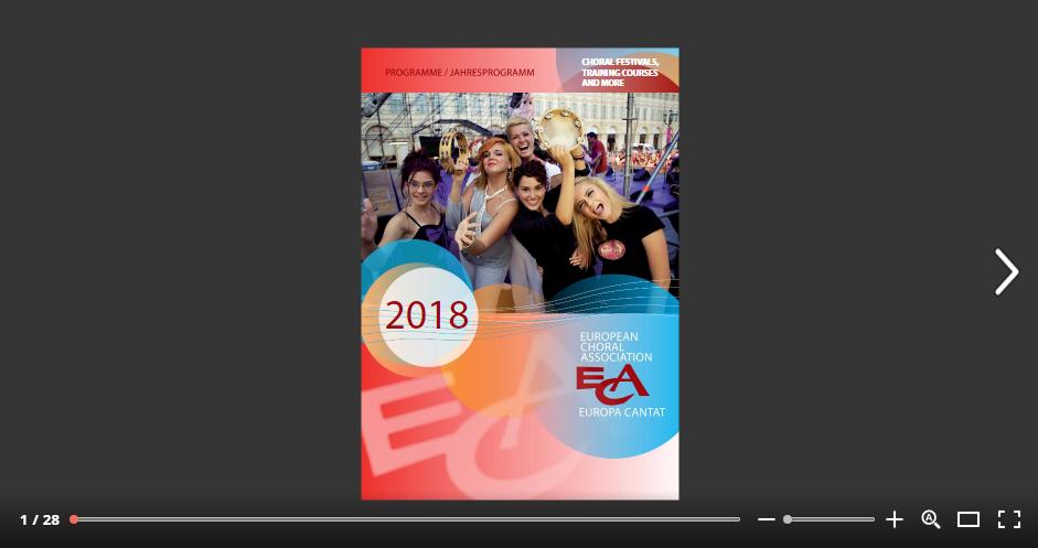 ECA-EC 2018 activities programme
