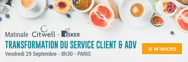 Transformation du service client & ADV