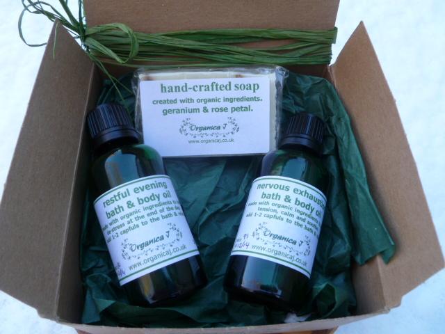 Organic Bathtime Gift Box