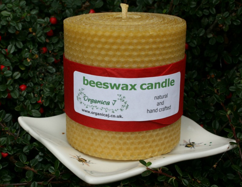 Burn a Natural Beeswax Candle for Earth Hour