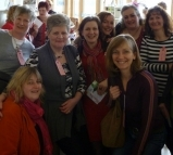 International Women's Day 2011 - a small group of the many who attended