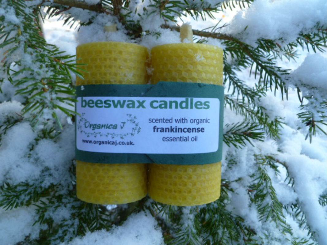 Beeswax Candle Frankincense