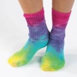 Tie dye organic socks