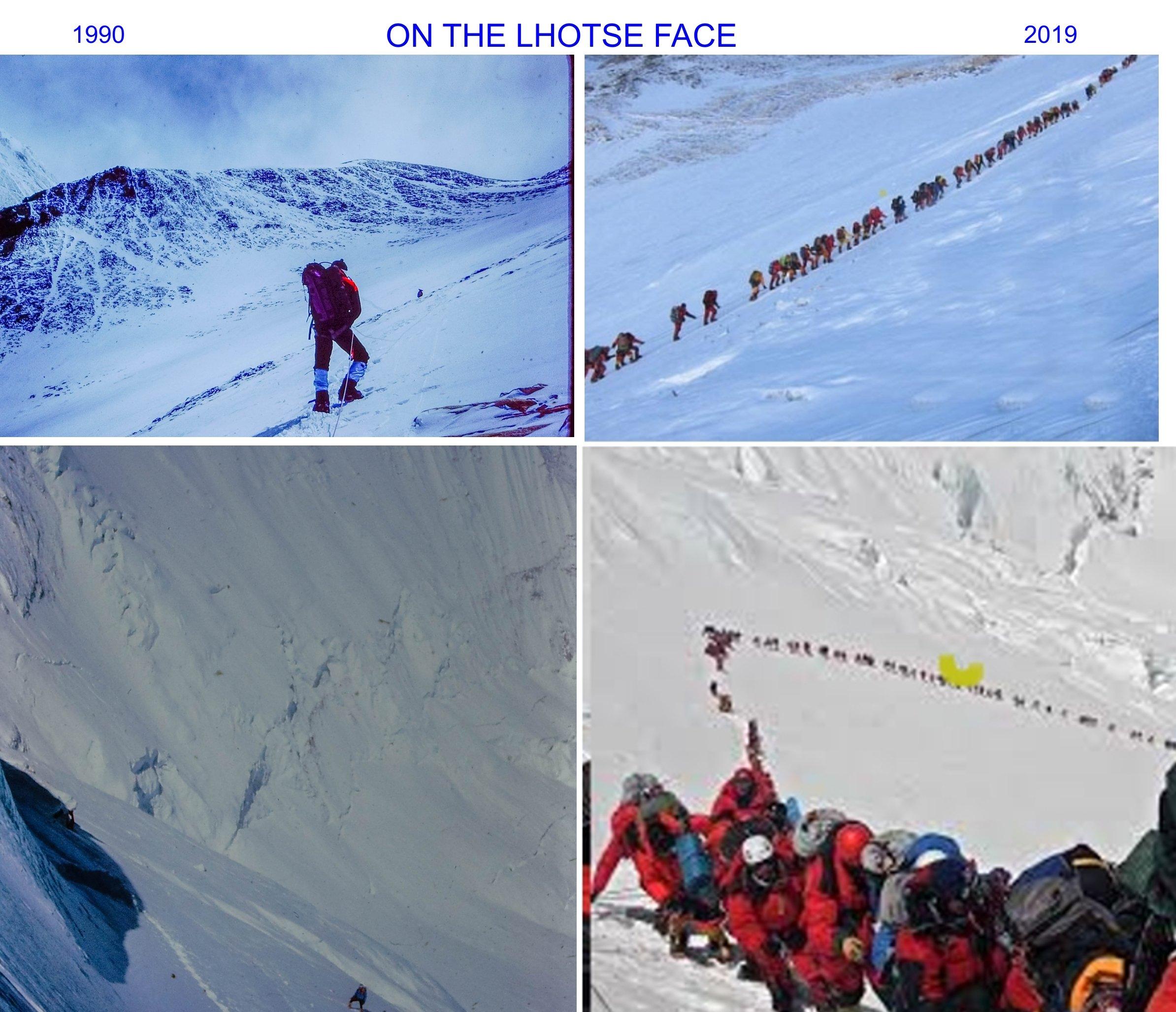 On the Lhotse Face