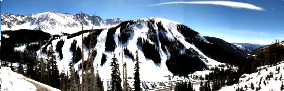A-Basin slopes