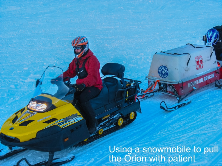 Snowmobile + Orion