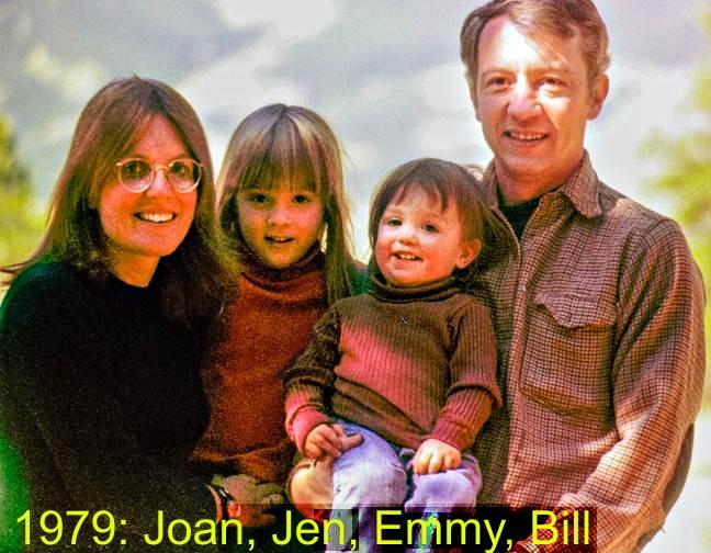 Joan, Jen, Emmy, Bill - 1979