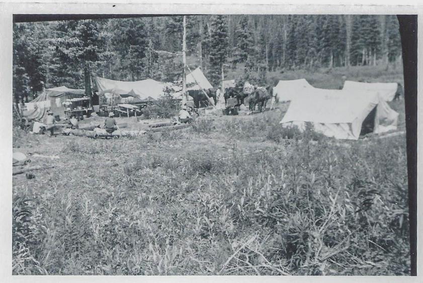 camp on Black Creek