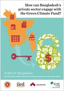 How can Bangladesh's private sector engage with the Green Climate Fund?