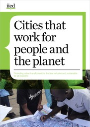 Flyer: Cities that work for people and the planet