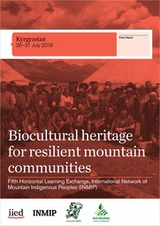 Biocultural heritage for resilient mountain communities