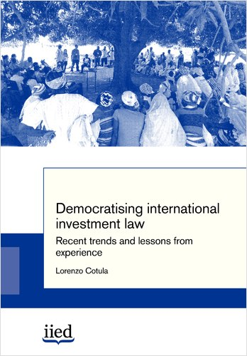 "Cover image of write-up ""democratising international investment law"""