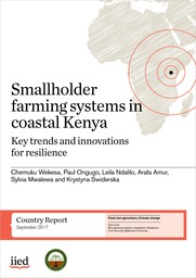 Smallholder farming systems in coastal Kenya: Key trends and innovations for resilience
