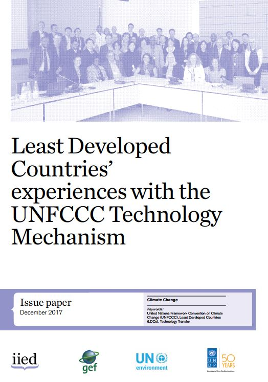Least Developed Countries' experiences with the UNFCCC technology mechanism