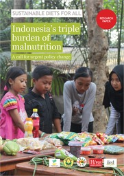 Indonesia's triple burden of malnutrition: a call for urgent policy change