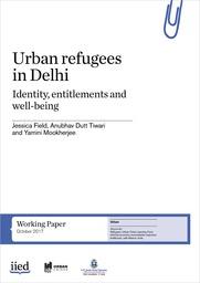 Urban refugees in Delhi