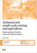 Artisinal and small-scale mining and agriculture