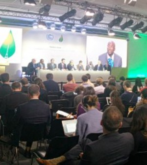 The Least Developed Countries Group played a key role in the High Ambition Coalition that successfully pushed for a 1.5-degree climate goal in the Paris Agreement (Photo: Matt Wright/IIED)