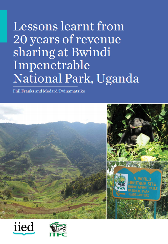 Lessons learnt from 20 years of revenue sharing at Bwindi Impenetrable National Park, Uganda