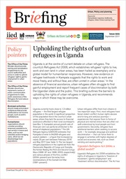 Upholding the rights of urban refugees in Uganda